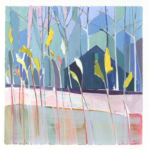 cuadros-de-paisajes - Cuadro  -flags- - Evans, Charlotte