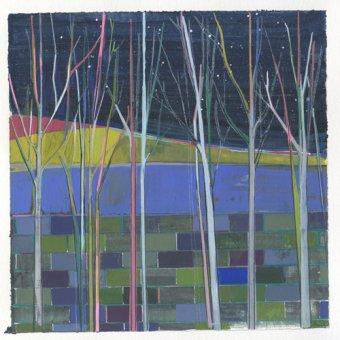 cuadros abstractos - Cuadro  -stripes- - Evans, Charlotte