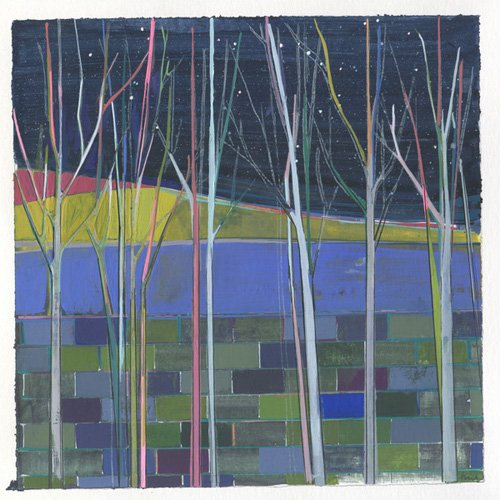 cuadros-de-paisajes - Cuadro -stripes- - Evans, Charlotte