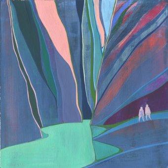 cuadros abstractos - Cuadro  -Canyon- - Evans, Charlotte