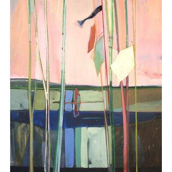 cuadros abstractos - Cuadro  -red sky- - Evans, Charlotte