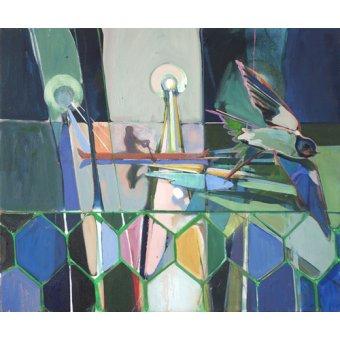 cuadros abstractos - Cuadro  -winged- - Evans, Charlotte