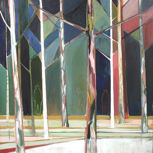 cuadros-de-paisajes - Cuadro  -wood for trees- - Evans, Charlotte