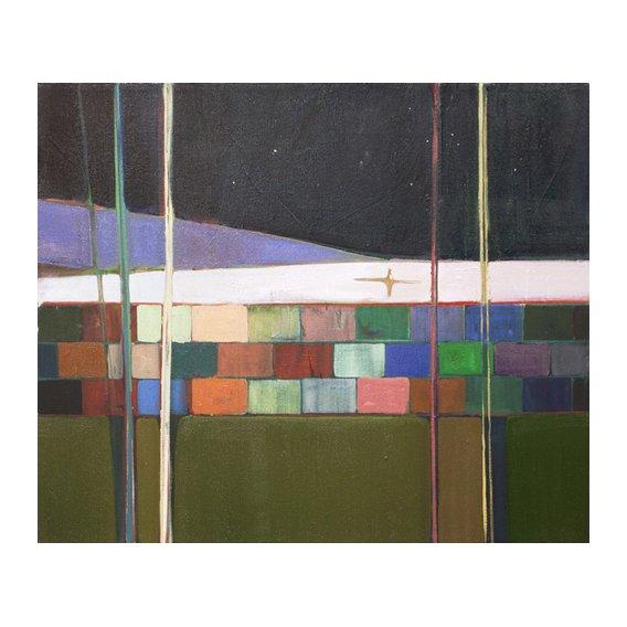 Cuadro  -rainbow blocks-