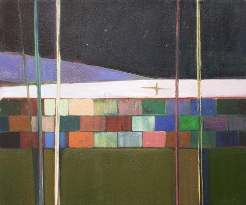 cuadros-de-paisajes - Cuadro  -rainbow blocks- - Evans, Charlotte