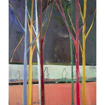 cuadros abstractos - Cuadro  -run- - Evans, Charlotte