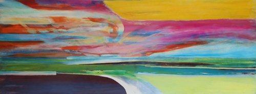 cuadros-abstractos - Cuadro -Ipso Facto- - Gibbs, Lou