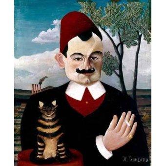 - Cuadro -Retrato de Pére Loit- - Rousseau, Henri
