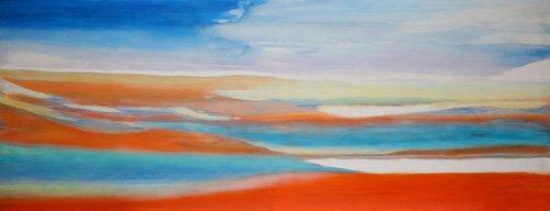 cuadros-abstractos - Cuadro -Miracle Water,2004- - Gibbs, Lou
