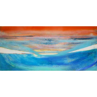 cuadros abstractos - Cuadro -Moses,2014- - Gibbs, Lou