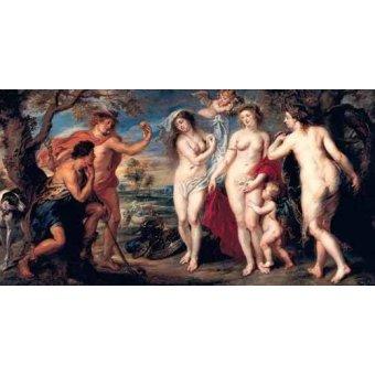 - Cuadro -Juicio de Paris- - Rubens, Peter Paulus
