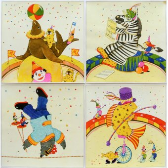 - Cuadro -Animal Circus II- - Kaempf, Christian