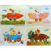 Cuadro -Animal Cars-