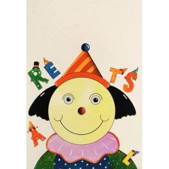 cuadros infantiles - Cuadro -Party Clown- - Kaempf, Christian