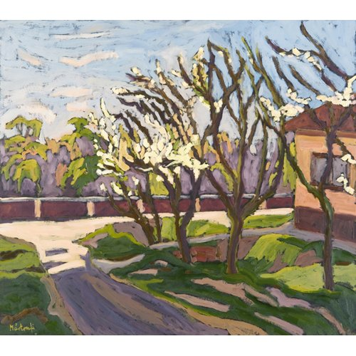 Cuadro - In Spring Light, 2008 (oil on board) -