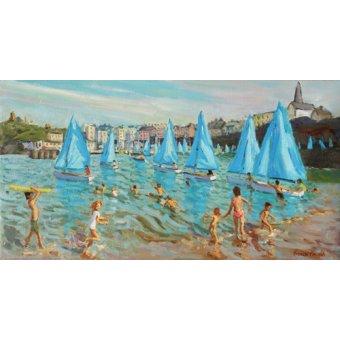 cuadros de marinas - Cuadro -Tenby Regatta,2016- - Macara, Andrew