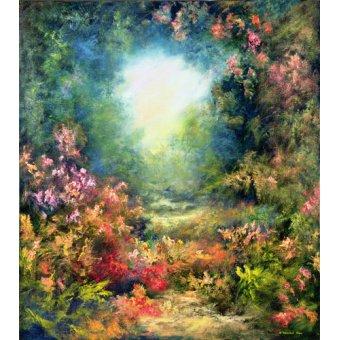 cuadros de paisajes - Cuadro -Rococo Delight, 1995- - Mane, Hannibal