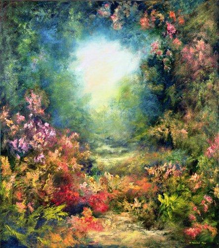 cuadros-de-paisajes - Cuadro  -Rococo Delight, 1995- - Mane, Hannibal