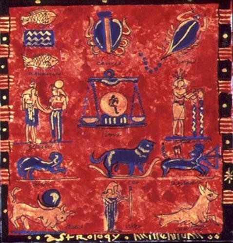 cuadros-etnicos-y-oriente - Cuadro -Astrology- - Manek, Sabira