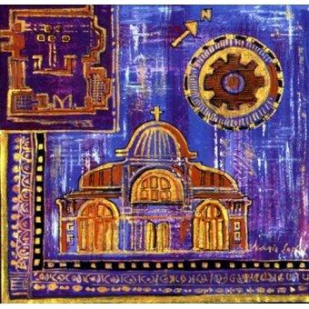 cuadros etnicos y oriente - Cuadro -Architecture 'Insert'- - Manek, Sabira