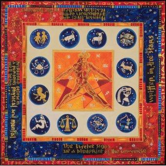 cuadros etnicos y oriente - Cuadro -Astrology, 1999- - Manek, Sabira