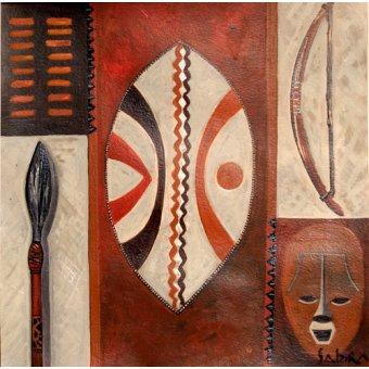 cuadros etnicos y oriente - Cuadro -Tulivu, 2007- - Manek, Sabira