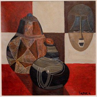 cuadros etnicos y oriente - Cuadro -Nywa, 2007- - Manek, Sabira