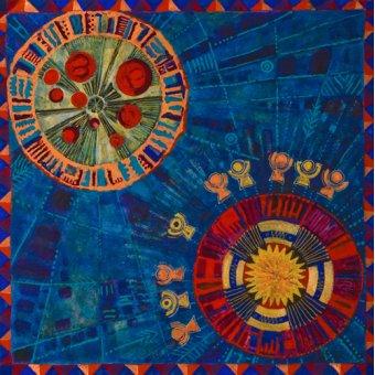 cuadros etnicos y oriente - Cuadro -Sunfan 2, 2008- - Manek, Sabira