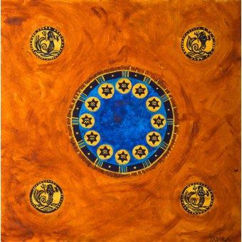 cuadros etnicos y oriente - Cuadro -Neptune, 2008- - Manek, Sabira