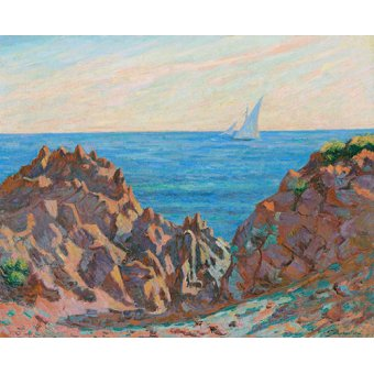 cuadros de marinas - Cuadro -Agay- - Guillaumin, Armand