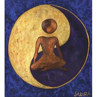 cuadros etnicos y oriente - Cuadro -Buddha One, 2009 - - Manek, Sabira