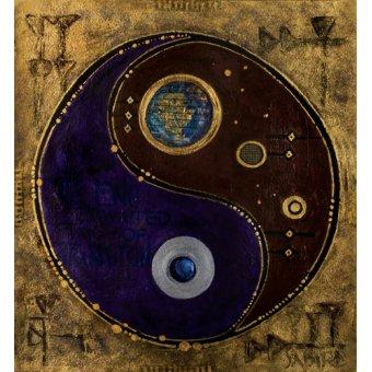 cuadros etnicos y oriente - Cuadro -Gemini-Sagitarius, 2009 - - Manek, Sabira