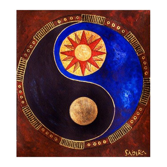 Cuadro -Sun-Moon, 2009-