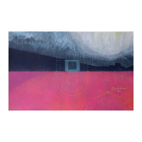 Cuadro  -Glyndebourne, 2000 (oil on linen)-