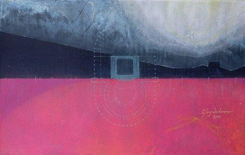 cuadros-abstractos - Cuadro  -Glyndebourne, 2000 (oil on linen)- - Millar, Charlie
