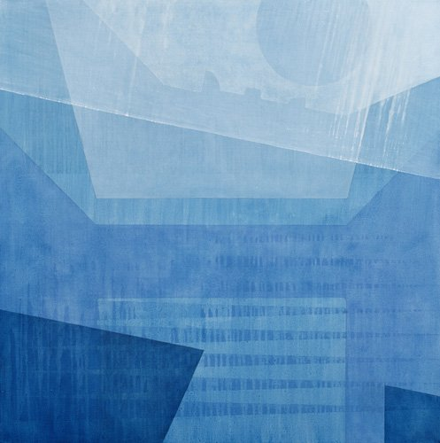cuadros-abstractos - Cuadro  -Moonglow, 1998 (oil on canvas)- - Millar, Charlie
