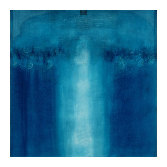Cuadro -Untitled blue painting, 1995 (oil on canvas)-