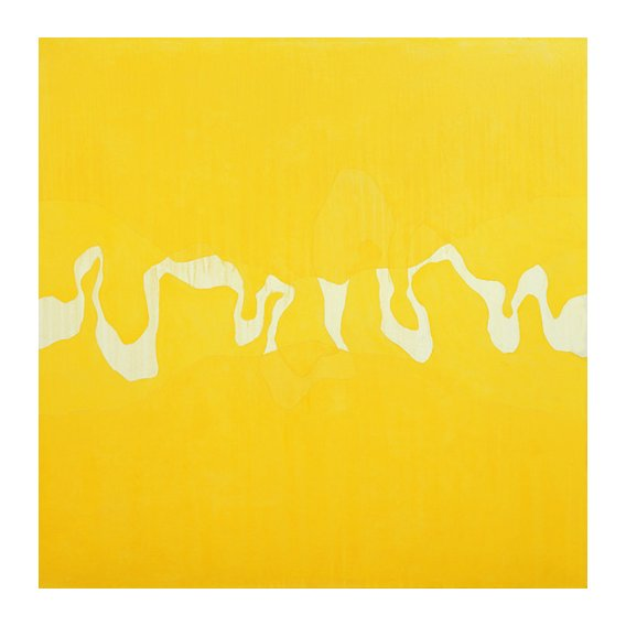 Cuadro  -Yellow journey (oil on canvas)-