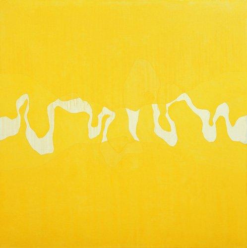 cuadros-abstractos - Cuadro  -Yellow journey (oil on canvas)- - Millar, Charlie