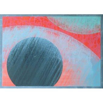 cuadros abstractos - Cuadro  -Untitled- - Millar, Charlie