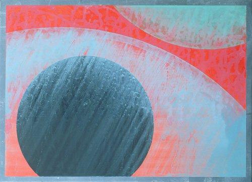 cuadros-abstractos - Cuadro  -Untitled- - Millar, Charlie