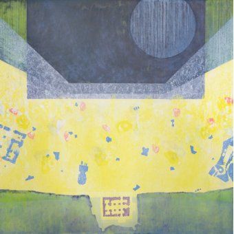 cuadros abstractos - Cuadro  -Between Emmanuel and Gabriel (Big Fun), 1998 (oil on canvas)- - Millar, Charlie