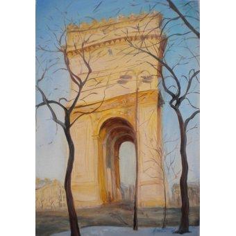cuadros de paisajes - Cuadro -Arc de Triomphe, 2010- - Myatt, Antonia