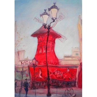 cuadros de paisajes - Cuadro -Moulin Rouge, 2010- - Myatt, Antonia