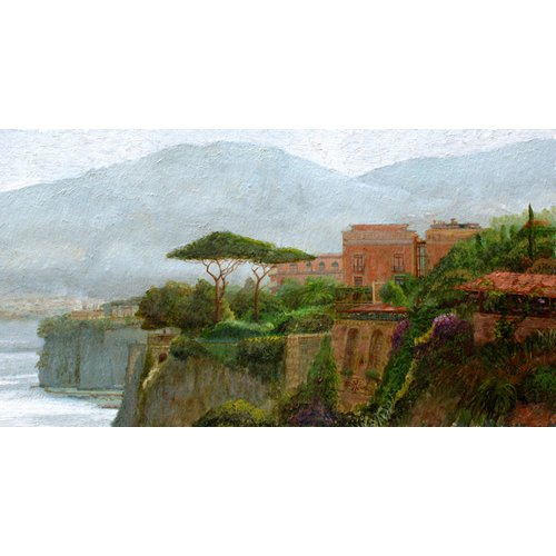 Cuadro -Sorrento Albergo, 2006 (oil on board)-