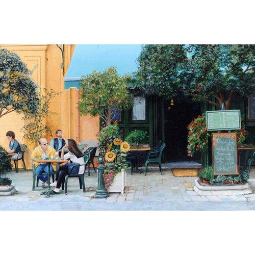 Cuadro -Cafe, Aix-En-Provence, 1999-