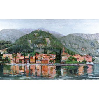 cuadros de paisajes - Cuadro -Varenna, Lake Como, Italy, 2004- - Neal, Trevor