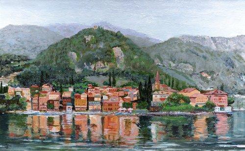 cuadros-de-paisajes - Cuadro -Varenna, Lake Como, Italy, 2004- - Neal, Trevor