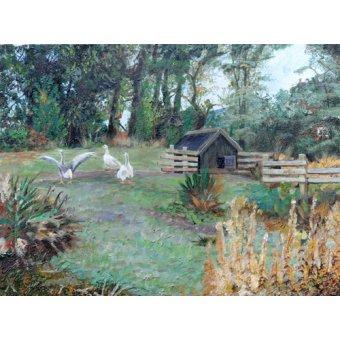 cuadros de paisajes - Cuadro -Beeley, Derbyshire, 2009- - Neal, Trevor