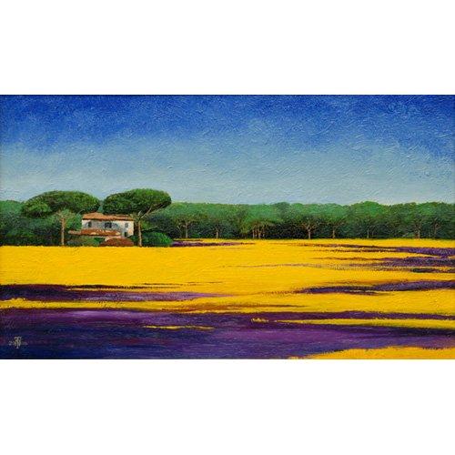 Cuadro -Tuscan Landcape, 2010-